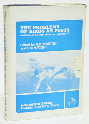The problems of birds as pests (Proceedings of a Symposium held at the Royal Geographical...