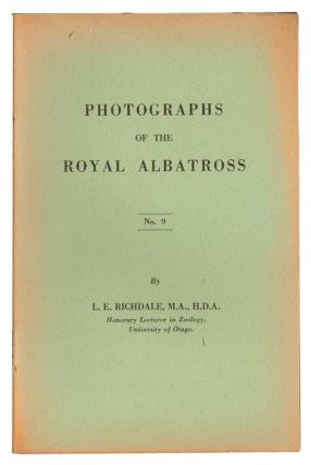Photographs of the Royal Albatross. L. E. Richdale