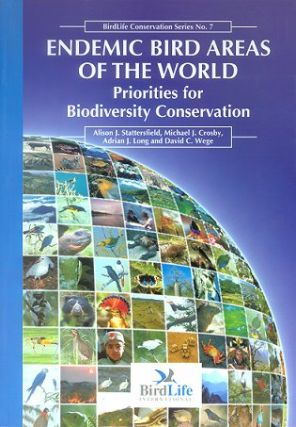 Endemic bird areas of the world: priorities for biodiversity conservation