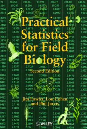 Practical statistics for field biology. Jim Fowler