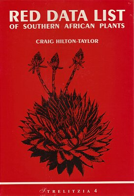 Red Data List of southern African plants. Craig Hilton-Taylor.