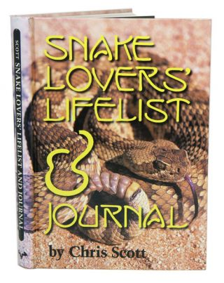 Snake lover's lifelist and journal