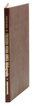A list of the published works of Frederic Wood Jones, 1879-1954. Barry E. Christophers
