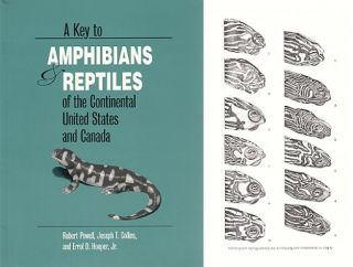 A key to amphibians and reptiles of the continental United States and Canada. Robert Powell.