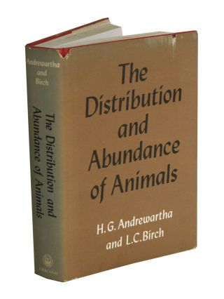 The distribution and abundance of animals. H. G. Andrewartha, L. C. Birch