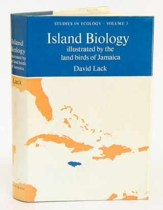 Island biology: illustrated by the land birds of Jamaica