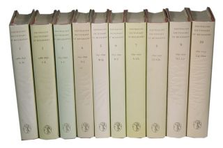Australian dictionary of biography, volumes 1-10. John Ritchie