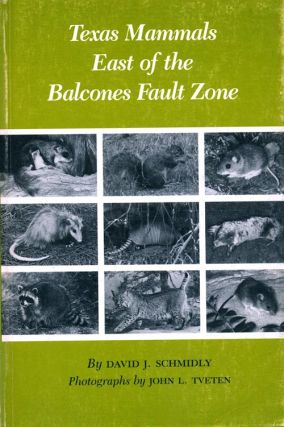 Texas mammals east of the Balcones Fault Zone