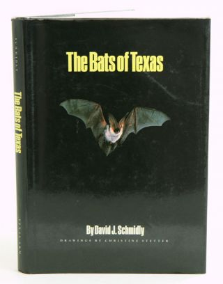 The bats of Texas. David J. Schmidly
