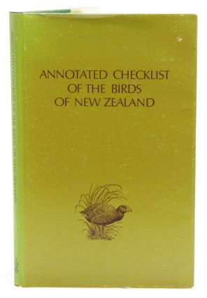 Annotated checklist of the birds of New Zealand: including the birds of the Ross Dependency. F. Kinsky.