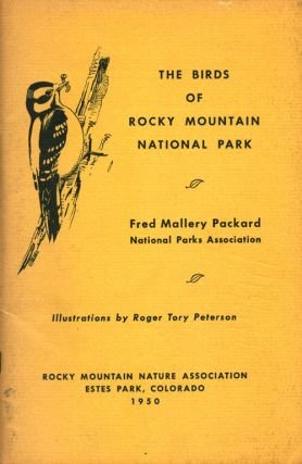 The birds of Rocky Mountain National Park. Fred Mallery Packard