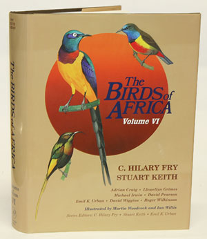 The birds of Africa, Volume six: Picathartes to Oxpeckers. Leslie H. Brown, C. Hilary Fry