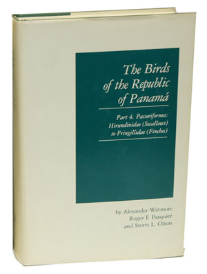The birds of the Republic of Panama. Part one, Tinamidae (tinamous) to Rynchopidae (Skimmers)....