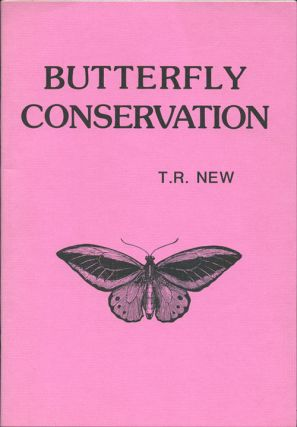 Butterfly conservation. T. R. New.