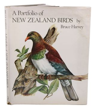 A portfolio of New Zealand birds. Bruce Harvey.