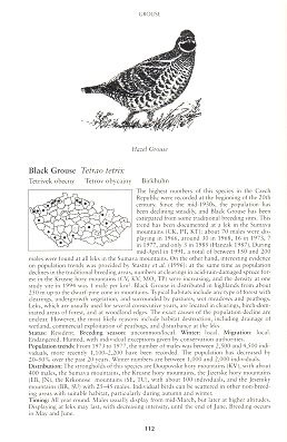 Birds of the Czech Republic.