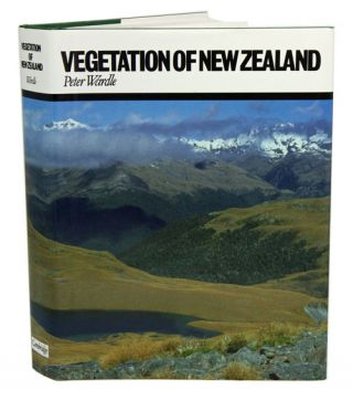 Vegetation of New Zealand. Peter Wardle.