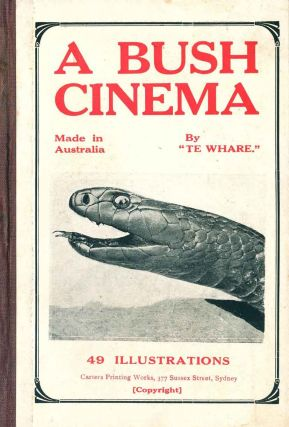 A bush cinema. Made in Australia. H. V. Edwards
