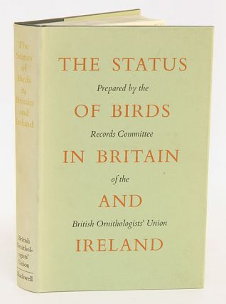 The status of birds in Britain and Ireland. D. W. Snow