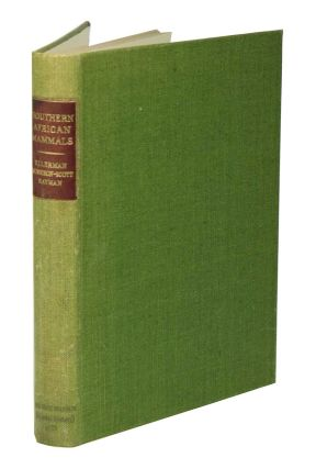 Southern African mammals 1758 to 1951: a reclassification. J. R. Ellerman