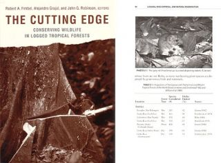 The cutting edge: conserving wildlife in logged tropical forests. Robert A. Fimbel