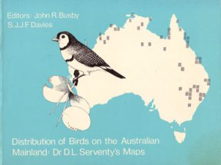 Distribution of birds on the Australian mainland. John R. Busby, S J. J. F. Davies