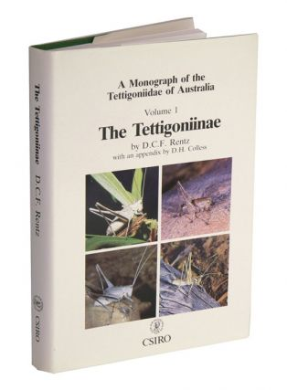 A monograph of the Tettiggoniidae of Australia, volume one: the Tettigoniinae. D. C. F. Rentz