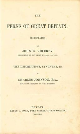 The ferns of Great Britain [with] The fern allies: a supplement.