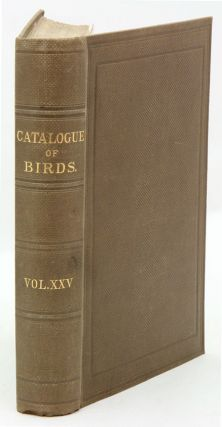 Catalogue of the Gaviae and Tubinares in the Collection of the British Museum [Catalogue of Birds...