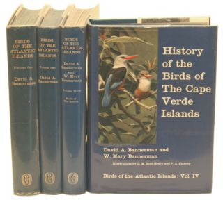 Birds of the Atlantic islands.