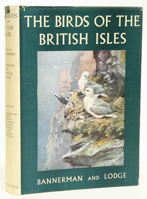 The birds of the British Isles, volume eight. David A. Bannerman.