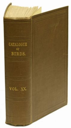 Catalogue of the Psittaci, or parrots in the collection of the British Museum. T. Salvadori.
