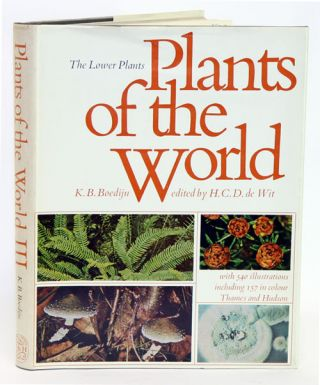 Plants of the world: the lower plants. K. B. Boedijn