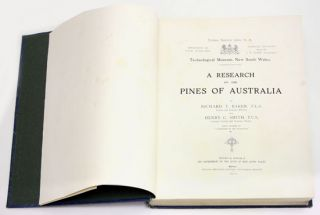 A research on the pines of Australia.