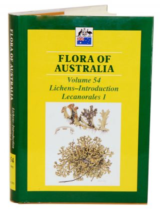 Flora of Australia, volume 54. Lichens: Introduction, Lecanorales [part one]. A. S. George