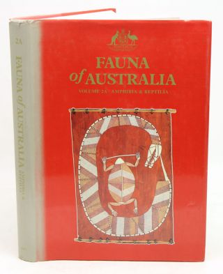 Fauna of Australia, volume 2A: Amphibia and Reptilia. C. J. Glasby.