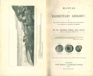 A manual of elementary geology: or the ancient changes of the earth and its inhabitants as illustrated by geological monuments.