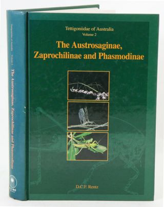 Tettigoniidae of Australia, volume two: the Austrosaginae, Zaprochilinae and Phasmodinae