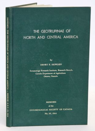 The geotrupinae of North and Central America. Henry F. Howden