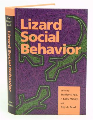 Lizard social behavior. Stanley F. Fox