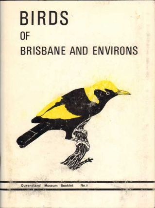 Birds of Brisbane and environs. Donald P. Vernon