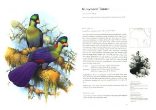Turacos: a natural history of the Musophagidae.