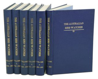 The Australian Bird Watcher, volumes 1-6. Roy P. Cooper