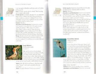 Birds of the Mid-Atlantic region and where to find them.