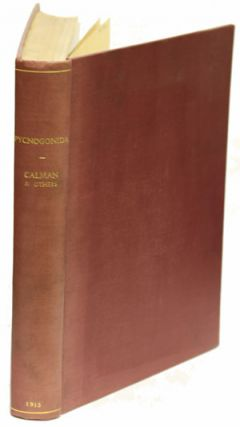 A collection of four substantial papers on Pycnogonida. W. T. Calman