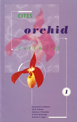 CITES Orchid checklist Volume one. J. A. Roberts