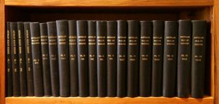 Australian Wildlife Research [volumes 1-20]. B. J. Walby