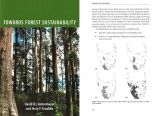 Towards forest sustainability. David Lindenmayer, Jerry Franklin