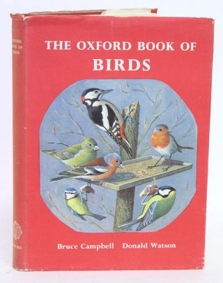 The Oxford book of birds. Bruce Campbell