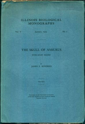 The skull of the Amirus. James E. Kindred.